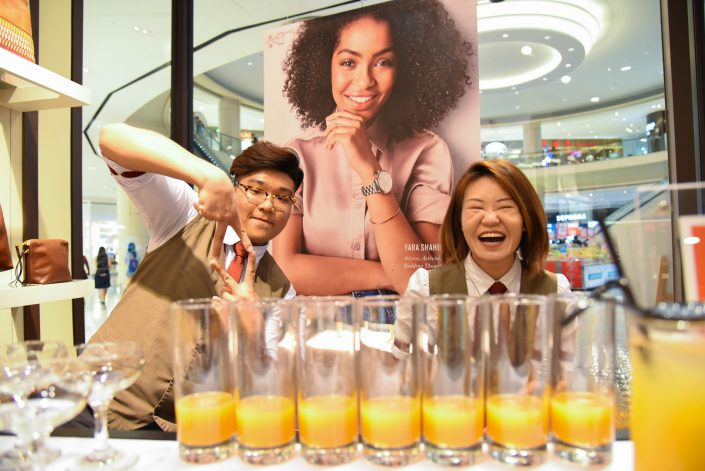 Events Bartending with Fossil